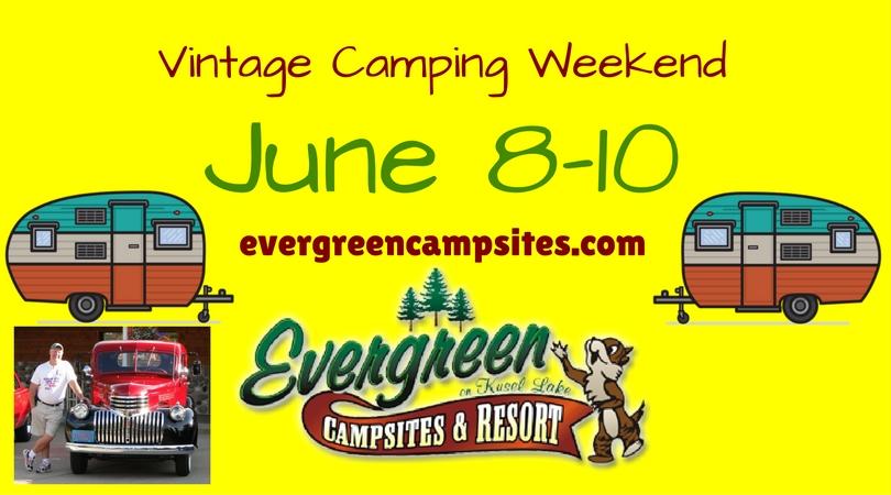 Vintage Camping Weekend